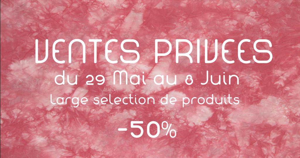 Du 29 mai au 8 juin, plus de 400 produits vous sont proposés avec -50%